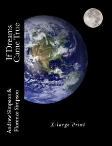 X-large Print book